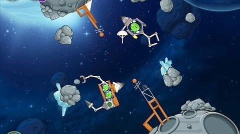 Angry Birds Space Beak Impact 8-3 Walkthrough 3 Star