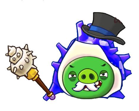 File:Angry Birds Fight! - Monster Pigs - Sazae Family - Sazae Papa - Lose.PNG