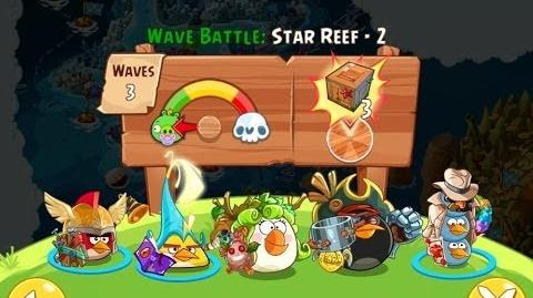 Angry Birds Epic Star Reef Level 2 Walkthrough