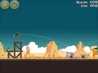 Official Angry Birds Walkthrough Ham 'Em High 14-5