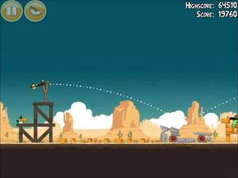 Official Angry Birds Walkthrough Ham 'Em High 14-5