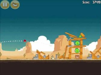 Official Angry Birds Walkthrough Ham 'Em High 13-9