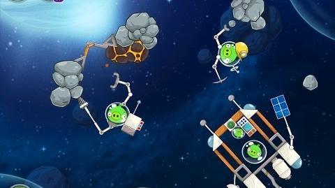 Angry Birds Space Beak Impact 8-14 Walkthrough 3 Star