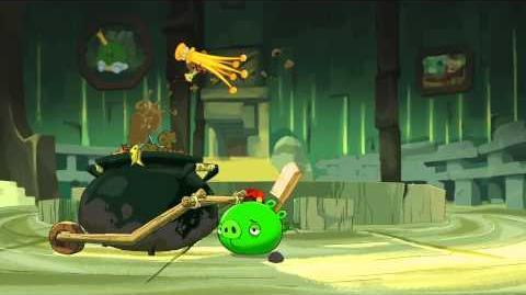 "Angry Birds Toons episode 2 sneak peek ""Where's My Crown?"""