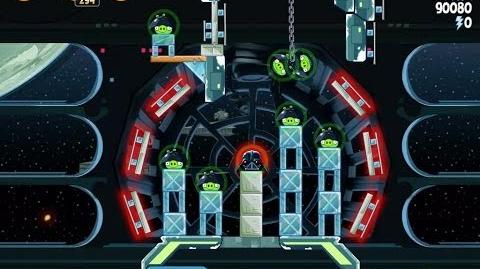 Angry Birds Star Wars 6-26 Death Star 2 Walkthrough 3 Stars