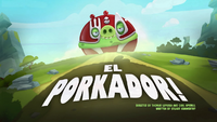 El Porkador! Title