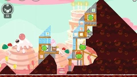 Angry Birds Birdday Party Cake 4 Level 10 Walkthrough 3 Star