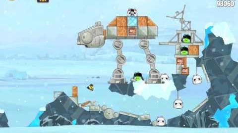 Angry Birds Star Wars 3-16 Hoth 3-Star Walkthrough