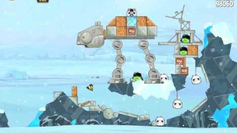 Hoth 3-16 (Angry Birds Star Wars)/Video Walkthrough