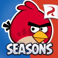Angry Birds Seasons Square Icon Ham Dunk