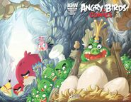 Angry birds comics - 11 sub ver cover