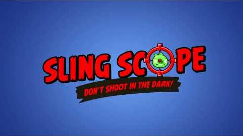 Angry Birds Facebook Power-up Sling Scope