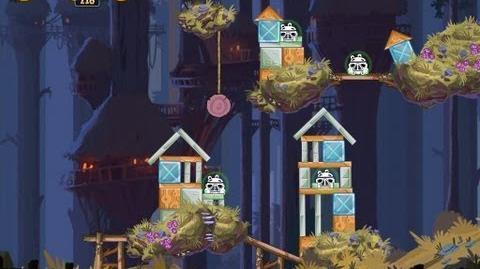 Angry Birds Star Wars 5-7 Moon of Endor 3 Star Walkthrough
