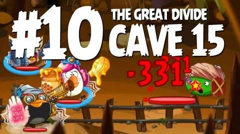 Angry Birds Epic Cave 15 Final Boss - Level 10 - The Great Divide - 3 Star Walkthrough