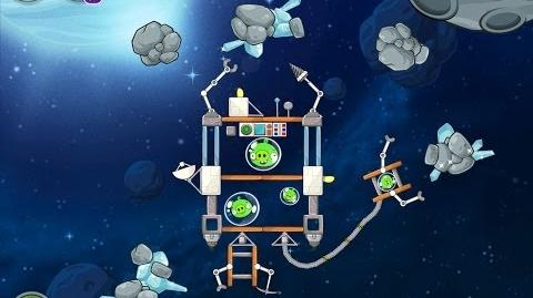 Angry Birds Space Beak Impact 8-24 Walkthrough 3 Star