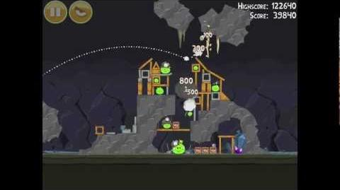 Angry Birds 16-15 Mine & Dine 3 Star Walkthrough