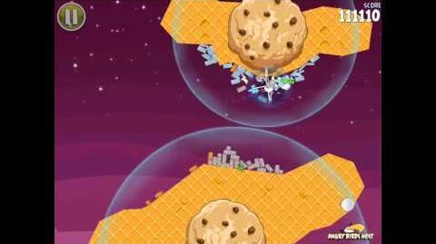Angry Birds Space S-9 Utopia Bonus Level Walkthrough