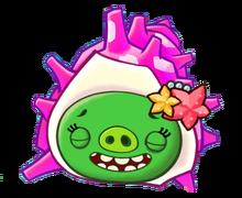 Angry Birds Fight! - Monster Pigs - Sazae Family - Sazae Mama