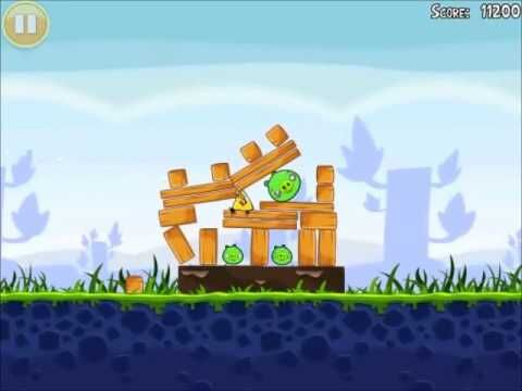 Official Angry Birds Walkthrough Poached Eggs 1-16