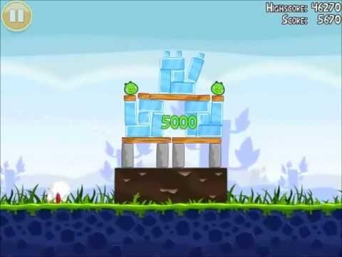Official Angry Birds Walkthrough Poached Eggs 1-7