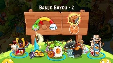Angry Birds Epic Banjo Bayou Level 2 Walkthrough