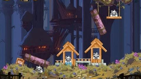 Angry Birds Star Wars 5-1 Moon of Endor 3 Star Walkthrough