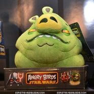 Angry birds jabba plush preview