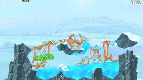 Angry Birds Star Wars 3-12 Hoth 3-Star Walkthrough