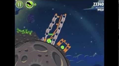 Angry Birds Space Pig Bang 1-21 Walkthrough 3-star