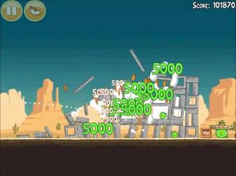 Official Angry Birds Walkthrough Ham 'Em High 13-7