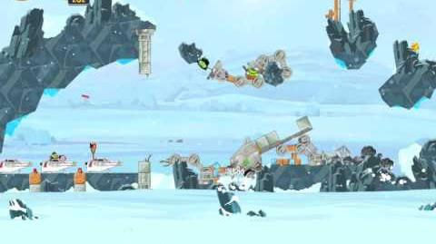 Angry Birds Star Wars 3-17 Hoth 3-Star Walkthrough