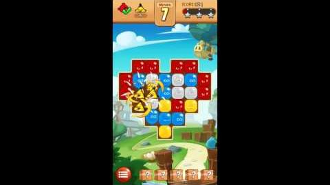 Angry Birds BLAST! Level 1 Walkthrough