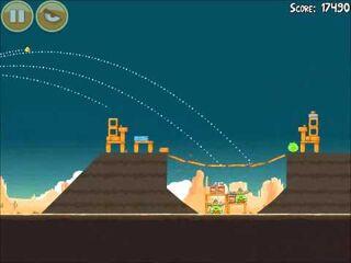 Official Angry Birds Walkthrough Ham 'Em High 14-3