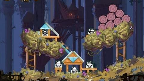 Angry Birds Star Wars 5-2 Moon of Endor 3 Star Walkthrough