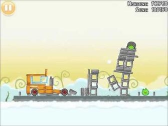 Official Angry Birds Walkthrough Danger Above 8-7