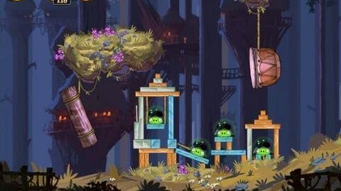 Angry Birds Star Wars 5-17 Moon of Endor 3 Star Walkthrough