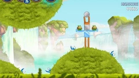 Angry Birds Star Wars 2 Level B1-14 Naboo Invasion 3 star Walkthrough