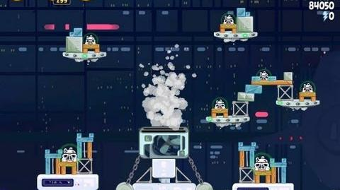 Angry Birds Star Wars 4-36 Cloud City 3 Star Walkthrough