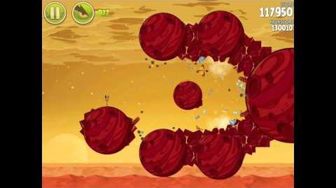 Angry Birds Space Red Planet 5-19 Walkthrough 3-Star