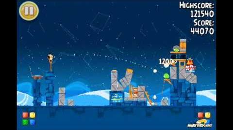 Angry Birds Seasons Intel Golden Egg Level 2