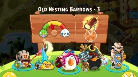 Angry Birds Epic Old Nesting Barrows Level 3 Walkthrough