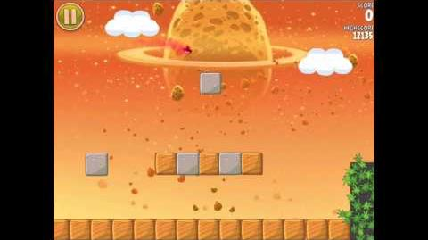 Angry Birds Space E-2 Pig Bang Golden Eggesteroid (Egg) 2 Walkthrough 3 star