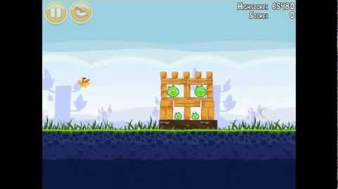 Angry Birds Poached Eggs 1-16 Walkthrough 3 Star