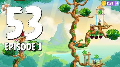 Angry Birds Stella Level 53 Walkthrough Branch Out Episode 1