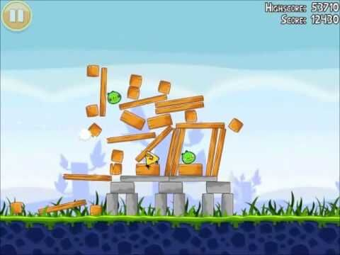 Official Angry Birds Walkthrough Poached Eggs 1-17