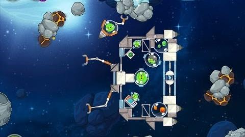 Angry Birds Space Beak Impact 8-22 Walkthrough 3 Star
