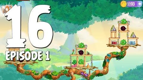 Angry Birds Stella Level 16 Walkthrough Branch Out Episode 1