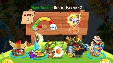 Angry Birds Epic Desert Island Level 2 Walkthrough