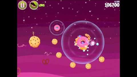 Angry Birds Space Utopia 4-28 Walkthrough 3-Star