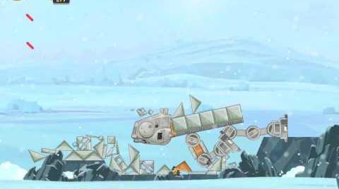 Angry Birds Star Wars 3-6 Hoth 3-Star Walkthrough